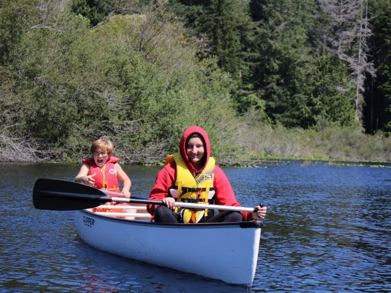 youth canoe camp