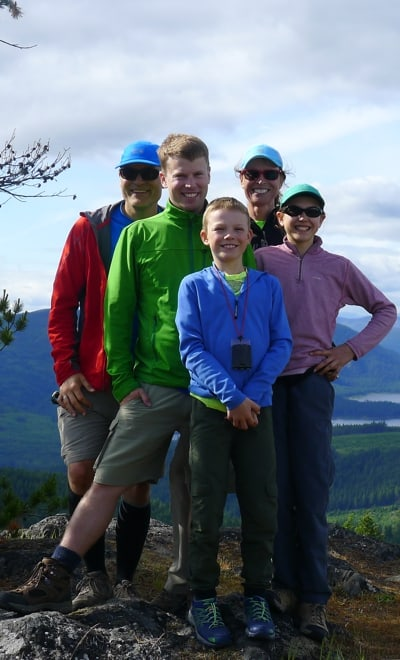 Family Backcountry Camping Skills Program