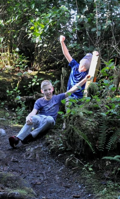 Jaun de Fuca Trail Youth Summer Hiking Programs